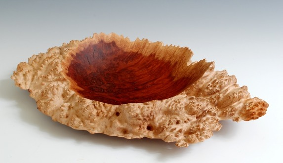 Red Mallee Burl with points